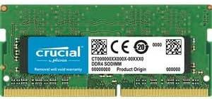 Crucial CT8G4DFRA32A 8GB Speicher DDR4, 3200 MT//s, PC4-25600, DIMM, 288-Pin Gr/ün