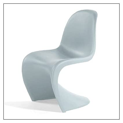 Amazon.com: Vitra Panton Chair, color = Ice Grey: Kitchen & Dining