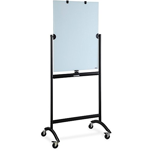 Lorell Revolving Glass Easel Style Dry Erase Board (LLR52564) by Lorell