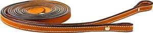 Pro Series Dark Oil Gator Leather Cross Western Pleasure Barrel Horse Tack Package Headstall Breastplate Reins