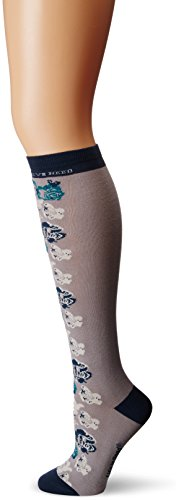 Life is good Women's Knee Floral Sock , One Size