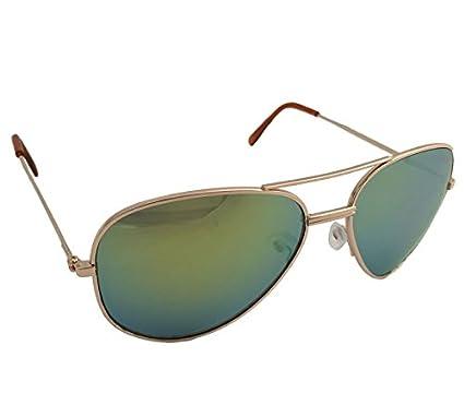 Dasoon vision Gafas de Sol Estilo Aviador Efecto Espejo ...