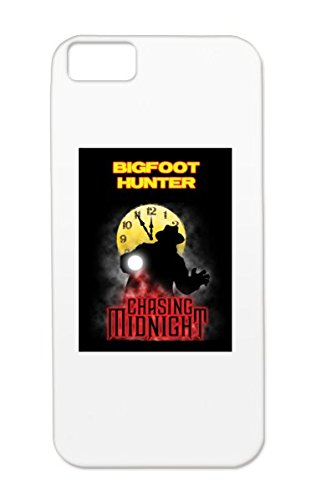 Rugged Black Protective Hard Case For Iphone 5c BIGFOOT HUNTER Religion Philosophy Ghost-hunting Taps Scary Vampires Goth Chasing-midnight Supernatural Zombies Spirituality Mythology Horror-movies Hauntings HAUNTED Paranormal Halloween Ghosts Spooky Gothi