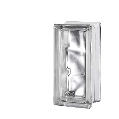 Quality Glass Block 4 x 8 x 3 Nubio Glass Block