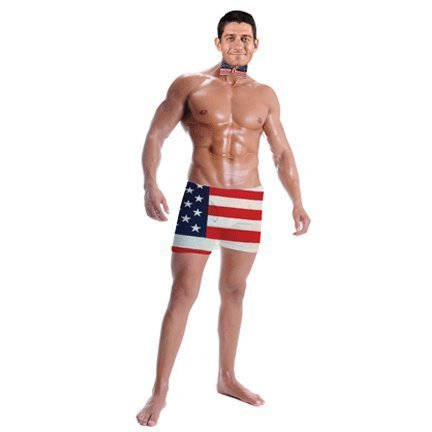 H10126 Paul Ryan Shirtless Cardboard Cutout Standup