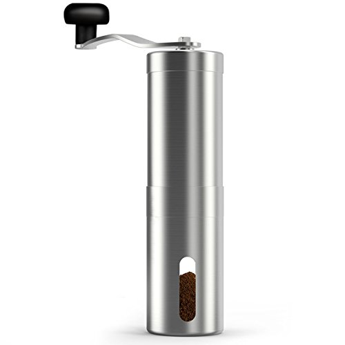 Portable Mini Espresso Maker with Coffee Grinder Set,Bnest Manual Coffee Grinder Espresso Machine,No Battery,No Electronic Power,Hand Held Pressure Coffee Maker for Home, Office,Travel,Outdoor by BNEST (Image #3)