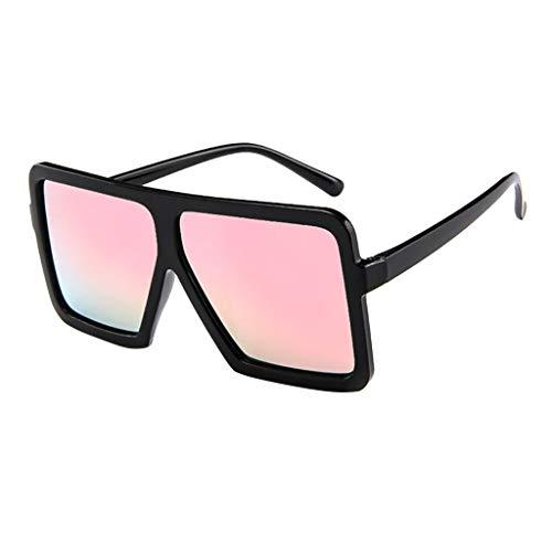 TIFENNY Sunglasses for Women Men Vintage Retro Glasses Unisex Big Frame Sunglasses Eyewear