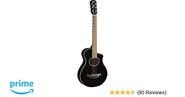 b9e5fcdb8d Amazon.com: Yamaha APXT2 3/4-Size Acoustic-Electric Guitar - Black ...