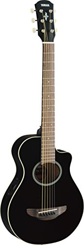 Yamaha APXT2 3/4-Size Acoustic-Electric Guitar - Black (Guitars Electric Acoustic)