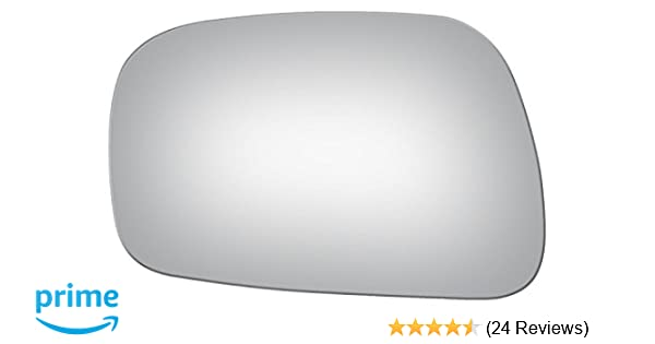SEE FITMENT LIST Flat Driver Left Side Replacement Mirror Glass for 2002-2006 Toyota Camry USA Built Mount Not Included Parts Link #: TO1323144