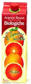 JAS認定 ICEA認定 有機ブラッドオレンジジュース(スプレムータ) 1000ml 冷凍