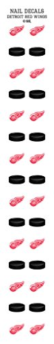 Worthy Promotional Detroit Red Wings Nail Sticker Decals