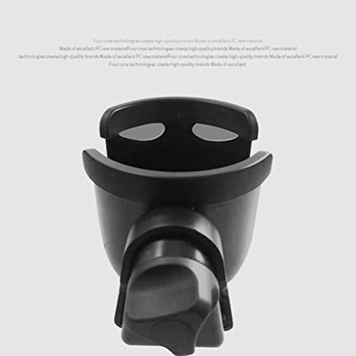 LIOOBO 2pcs Stroller Cup Holder with Hook Baby Stroller Bottle Rack Bottle Cup Holder (Black) by LIOOBO (Image #2)