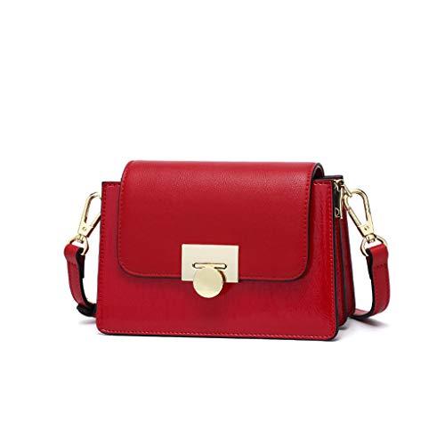 en mode à Petit femme pour sac pour Sac PU à main bandoulière Sac Red Sac orgue de pour carré Sac messager Aq40On