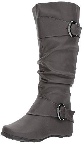 Brinley Co Frauen Hilton-WC Slouch Boot Grau