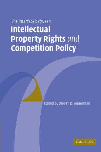 The Interface Between Intellectual Property Rights And Competition Policy