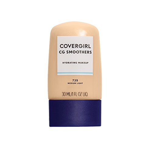 COVERGIRL Smoothers Hydrating Makeup Medium Light, 1 oz (packaging may vary) Cover Girl Smoothers Liquid Makeup
