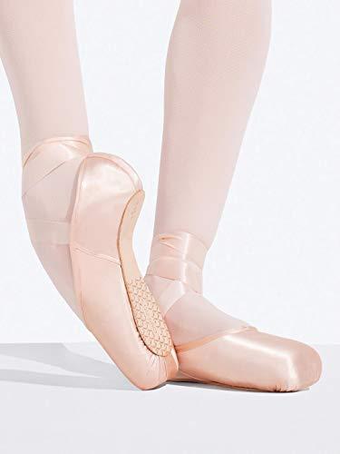 Capezio Women's Ava Pointe Ballet Shoe - Size 5.5M, Petal Pink