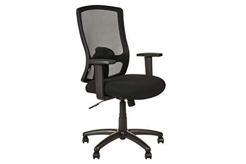 Alera ALEET4117B Etros Series High-Back Swivel/Tilt Chair, Black