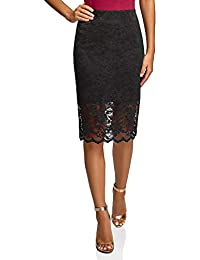 Ultra Women's Lace Midi Skirt