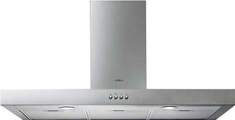 Elica Spot NG H6 IX/A/60 De pared Acero inoxidable 450m³/h - Campana (450 m³/h, Canalizado, 62 dB, De pared, Acero inoxidable, 20 W)