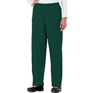 Fundamentals by White Swan Women's Pull-On Front Seam Scrub Pants X-Large - Pant Scrub Seam Front