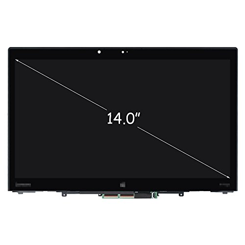 FirstLCD LCD Touch Screen Replacement for Lenovo ThinkPad X1 Yoga 1st Gen 20FQ 20FR LED Display Digitizer Assembly 00JT856 00UR189 00JT857 01AY795 01AY700 01AY904 FHD 14.0