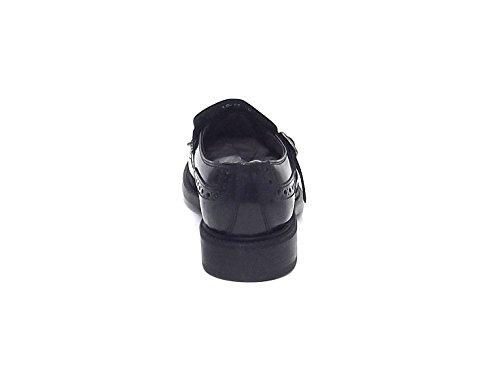 Scarpa classica uomo Soldini, 19617, pelle nero stile inglese A6102