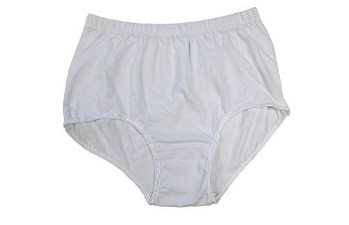 Javel Women's 1 Pack Cotton High Rise Brief Panties in ()