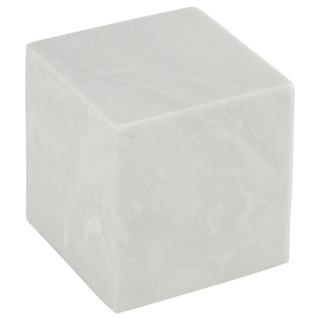 Silverlight Urns White Cultured Marble Small Urn for Human Ashes, Infant Urn - Child Size, 4