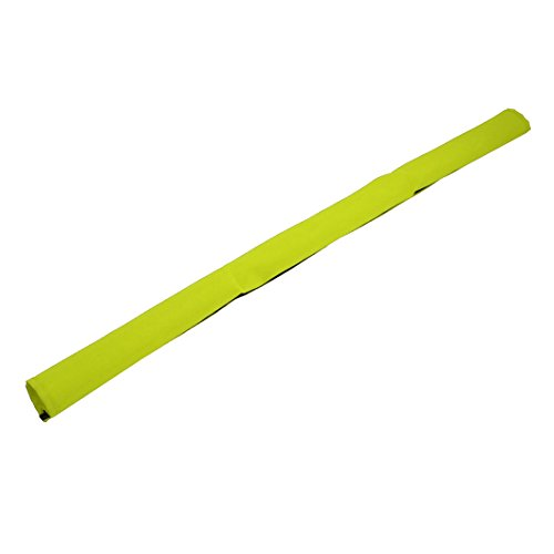 uxcell 725mmx145mm Oxford Cloth Hook Loop Removable Stroller Handrail Cover Green (Stroller Oxford)