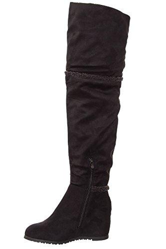 Femme Femme Pour Shelikes Noir Bottes Bottes Pour Femme Bottes Pour Noir Shelikes Noir Shelikes tfq8IxAx
