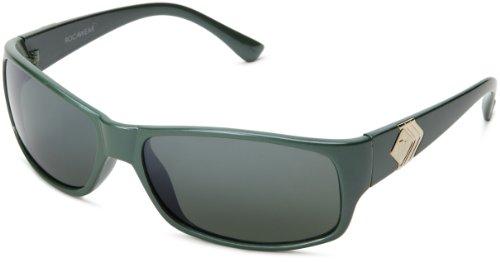 Rocawear Men's R1102 GRNM Wrap Sunglasses,Green Frame/Green Lens,one - Rocawear Mens Sunglasses
