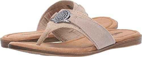 Minnetonka Women's Sedona Natural Linen 9 M ()