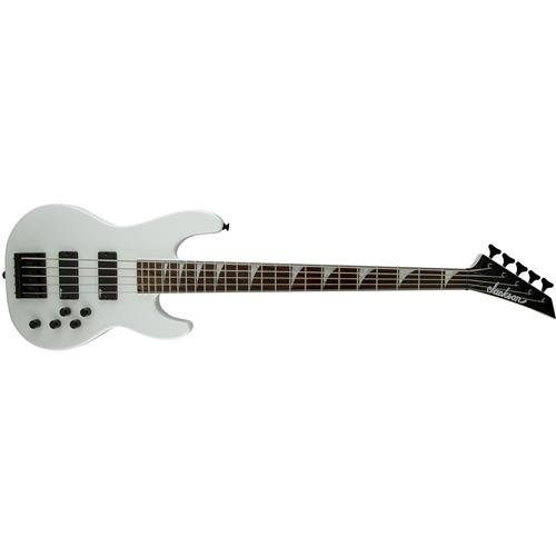 Jackson CBXNT V 5-String Electric Bass Guitar Snow White Rosewood Fingerboard