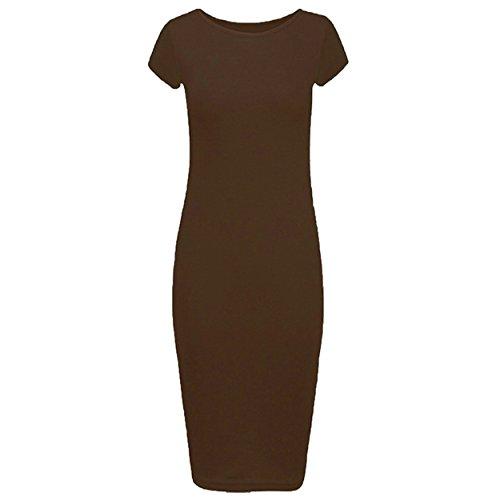 vestido Manchester de Ahr Ltd manga corta marr Bodycon tzUCUdq