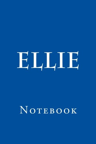 Ellie: Notebook