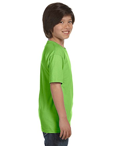 Gildan Dryblend Youth T-Shirt, Lime, X-Small