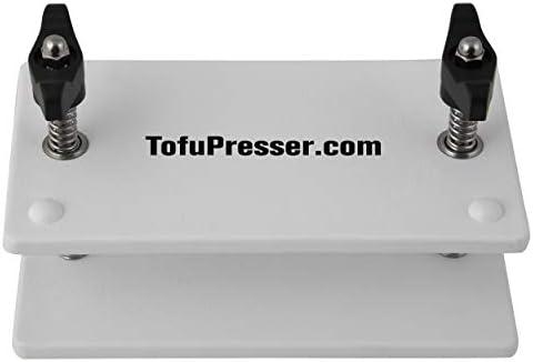 (White) - Super Tofu Press - The Best Tofu Press - With 4 Sp