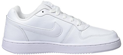 White NIKE Low Ebernon Damen Weiß White 001 Basketballschuhe WqXqB8PS