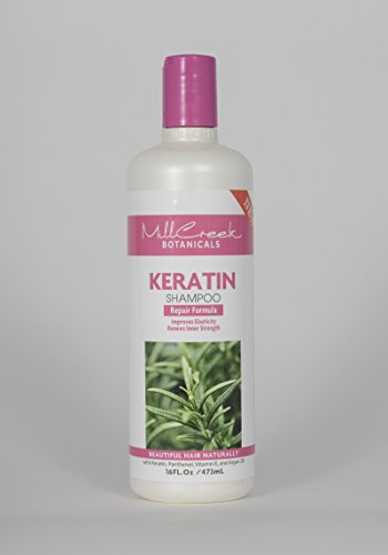 Mill Creek Organic Keratin Shampoo -- 16 fl oz