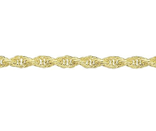 9ct or jaune bracelet Triple Corde 19,1cm/19cm