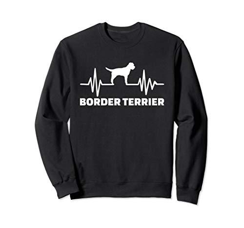Heartbeat Border Terrier Sweatshirt ()