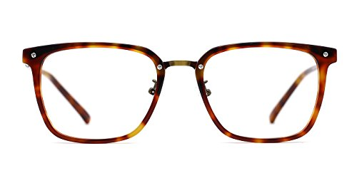 TIJN Square Acetate Frames with Metal Wiring Optical - Discount Frames Optical