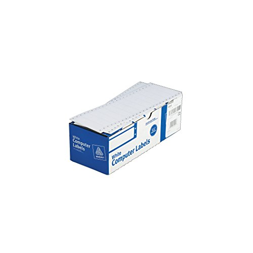 Avery Dot Matrix Printer White Addressing Labels, 3