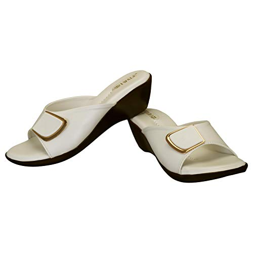 31y28p0laKL. SS500  - 1 WALK Comfortable Women-Flats/Fashion Slippers/Casual Footwear/Party slippers/MP-E101(A,B,C,D,E,)-$P