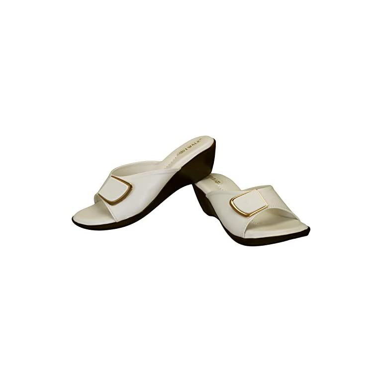 31y28p0laKL. SS768  - 1 WALK Comfortable Women-Flats/Fashion Slippers/Casual Footwear/Party slippers/MP-E101(A,B,C,D,E,)-$P