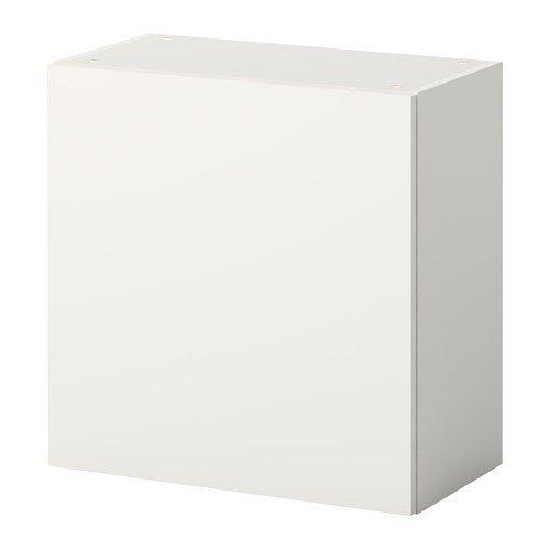 IKEA FYNDIG Wandschrank mit Türen; in weiß/grau; (80x35x60cm ...