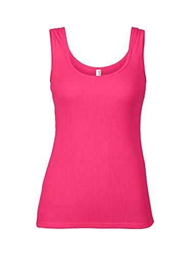 Chaleco Top de verano en algodón para Mujer Hot Pink