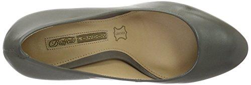Buffalo London 177138, Zapatos de Tacón Mujer Gris (GREY336)